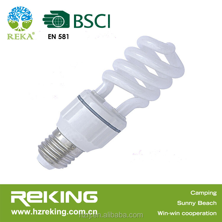 Factory Wholesale E27/B22 Spiral Energy Saving Lamp Bulb
