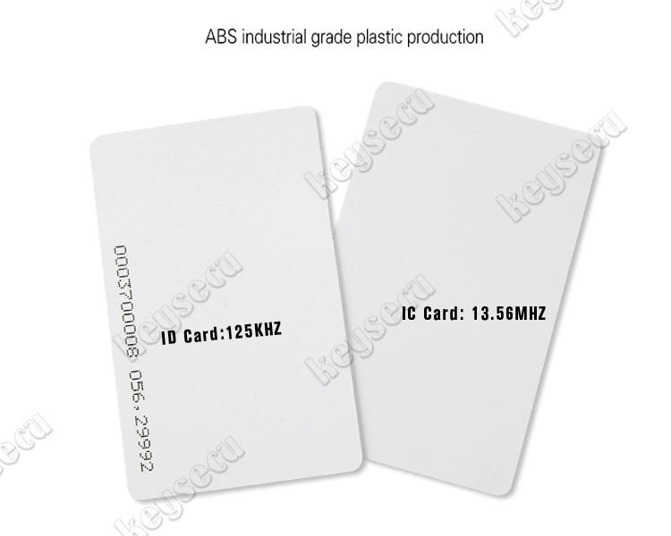 Free Sample 125khz inkjet printable pvc card