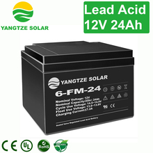 Top China factory electric car 12v 24ah lead acid battery