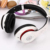 bluetooth headset silent disco wireless headphone with memory card