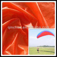 silicon coating waterproof ripstop taffeta by nylon 66 for tent, paraglider, sleep bag
