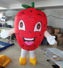 moving cartoon advertising strawberry ,Inflatable moving cartoon strawberry,