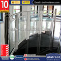 Aluminium Alloy glass Rail Made in Guangzhou