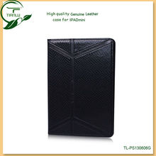 for iPad leather case with credit card slots (100% orginal Genuine leather),particular fashion mobile phone case for ipad mini