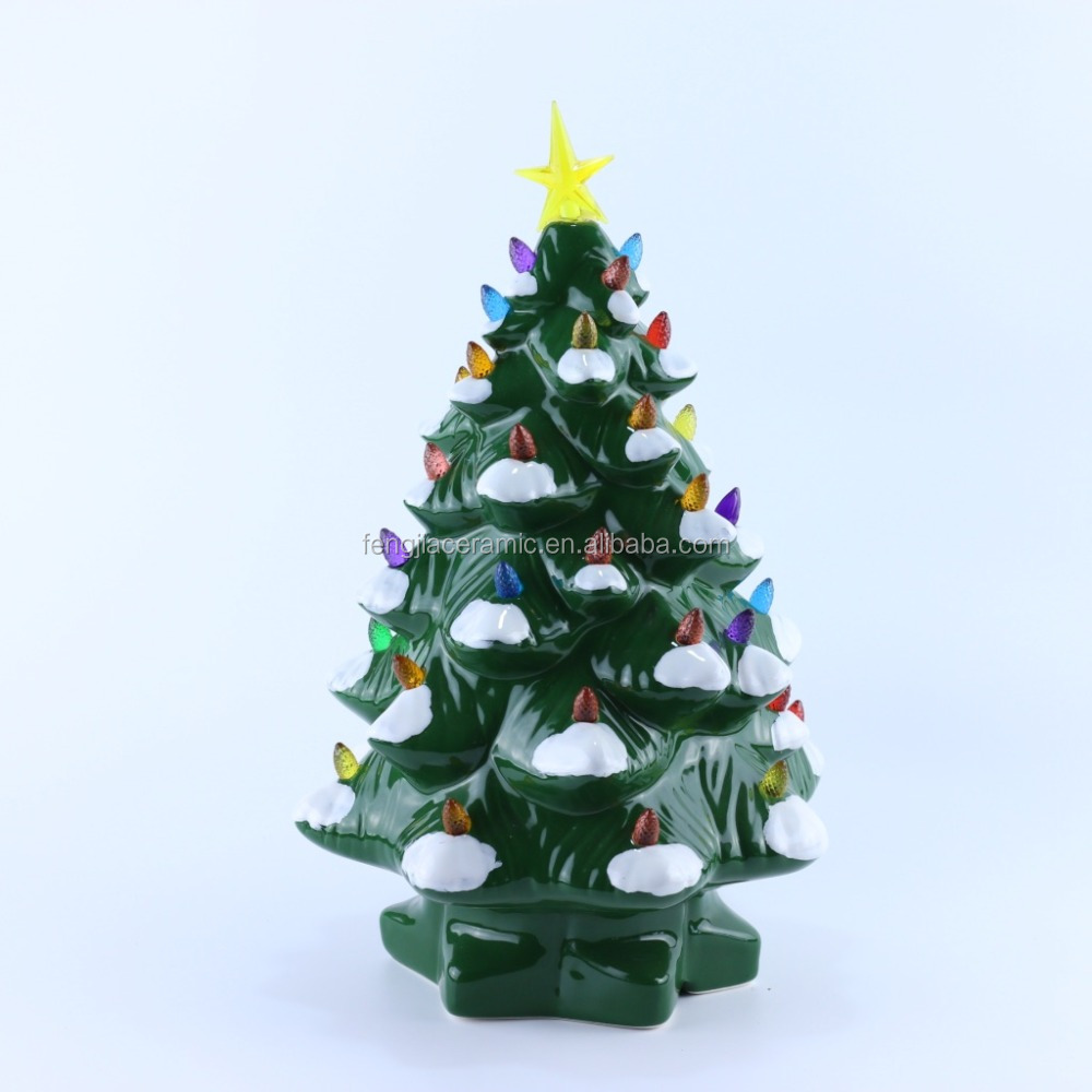 Oversized Illuminated Plug Ceramic Christmas Tree Buy Ceramic Christmas Tree Plug Christmas Tree Oversizedchristmas Tree Product On Alibaba Com