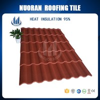 China durable and beautiful roofing materials suitable for the roofing tiles of steel structure