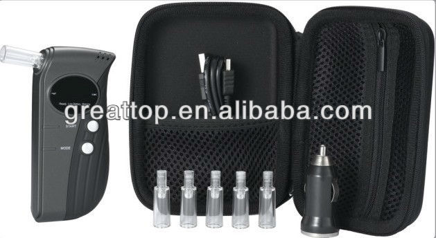 Greattop breath alcohol tester with mouthpiece GT-ALT-35
