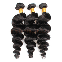 Aliexpress Wholesale Peruvian Human Hair Loose Weave Human Hair Weave