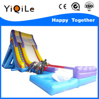 YQL Various top quality giant inflatable water slide for sale