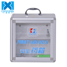 Cheap wholesale aluminum medical essentials sports first aid kit