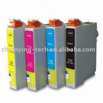 Compatible for Epson T0911 / T0912 / T0913 / T0914 Ink Cartridge for Epson Printer
