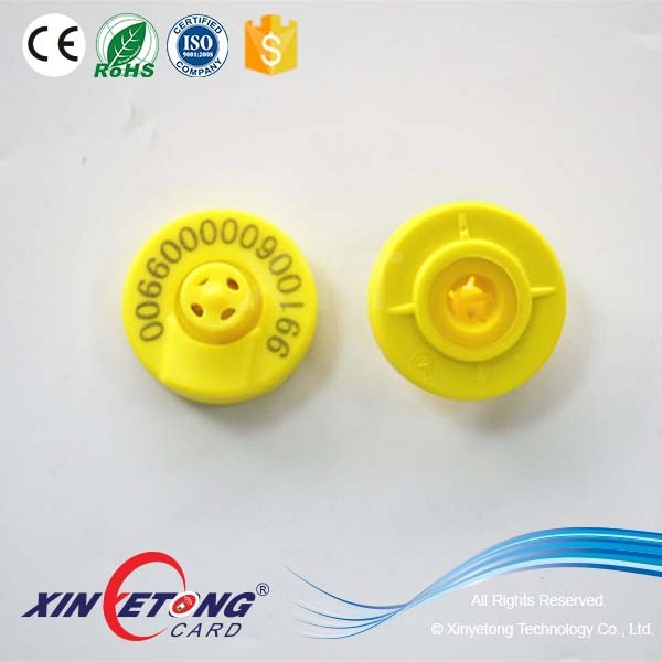 ISO11784/5 FDX-B and HDX 134.2KHz Animal Electronic Ear Tag