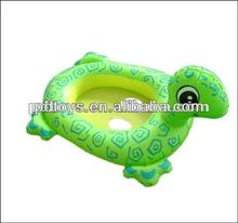 animal shape inflatable BB float swimming boat