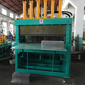 Corrugated fin forming machine for transformer wall tank making