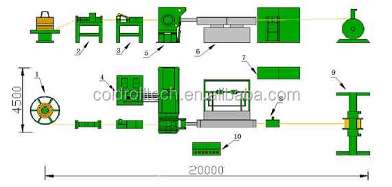 Copper Busbar Continuous Extrusion Machine Extruding Machine for busbar manufacturing