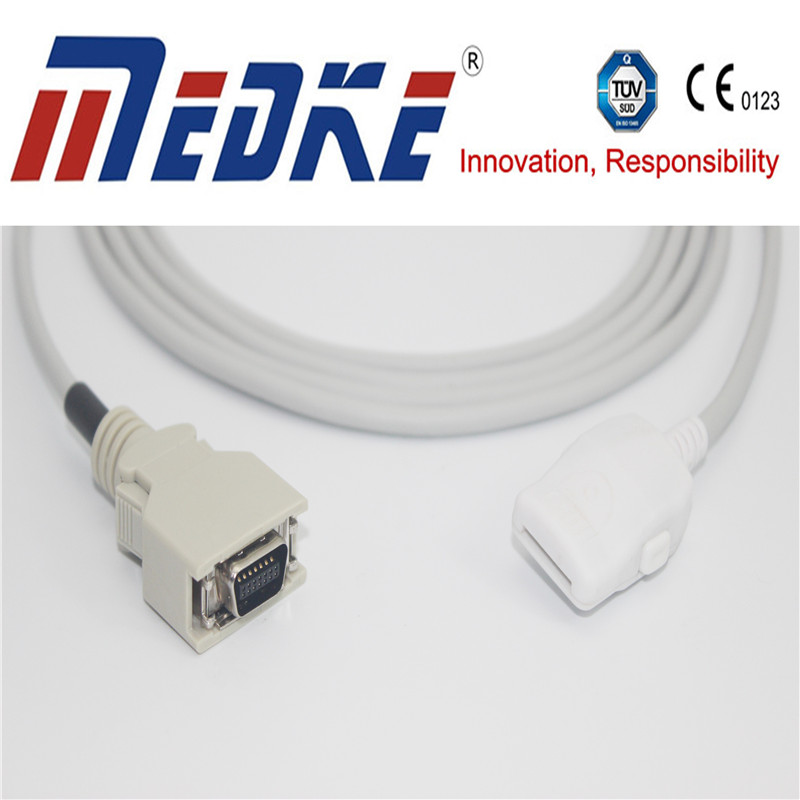 TUV CE masim cable 1005/PC08 compatible SpO2 Adapter cable
