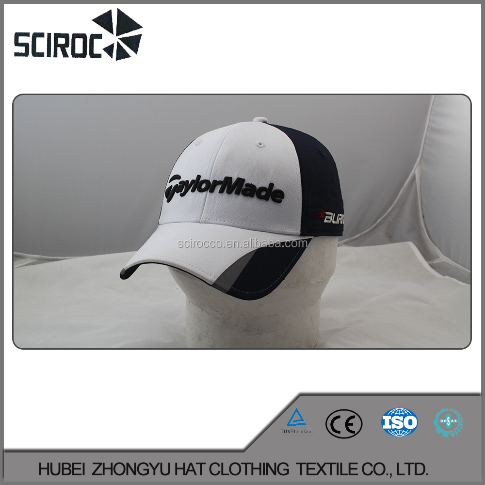 promotional oem custom made washed hair laser cap