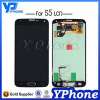 100% Original stable quality screen lcd replacement for samsung galaxy s5 phone unlocked ,for samsung galaxy s5 Lcd with screen