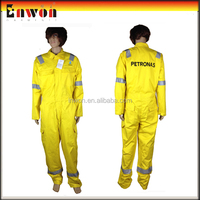 2014 New Reflective Working Winter Safety Heated Overalls