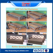 Chinese style folding sofa bed frame