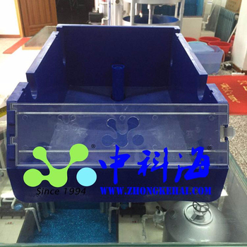 Mud crab farming  box in single vertical recycling system