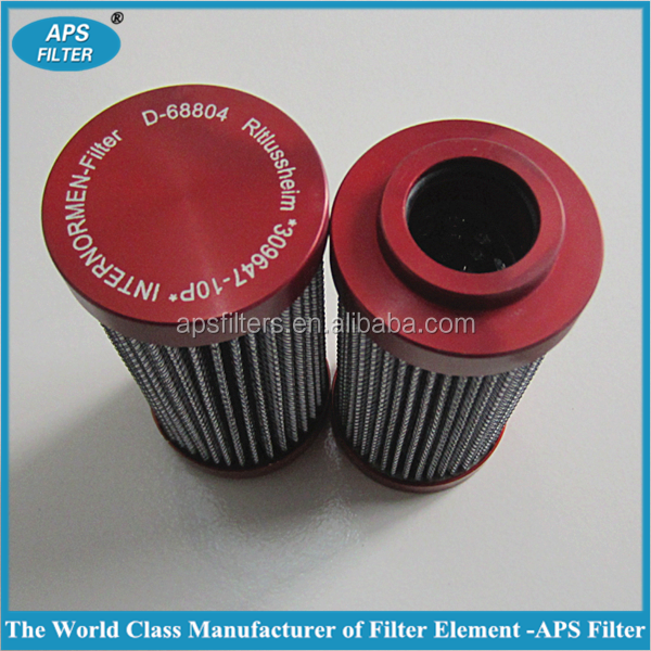 replace Internormen filter hydraulic oil filter element D68804