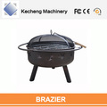 Stocked Feature and Fire Pits Charcoal Type Outdoor portable fire pit