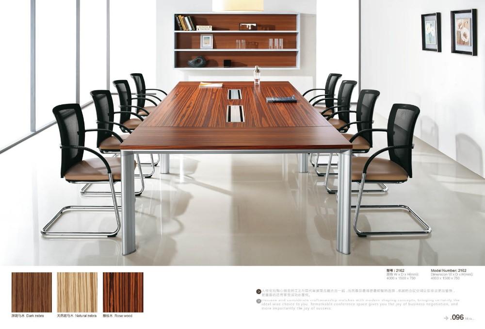 De haute qualité en bois bureau meubles nouveau design pvc table