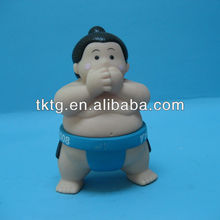 Plastic Sumo doll with standing