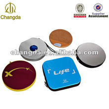 tinplate round CD case CD tin box (CD-205)
