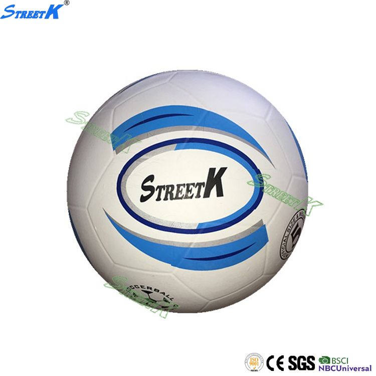 custom printing wholesale official size rubber football products