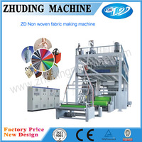 Low price automatic PP spunbonded nonwoven fabric production line