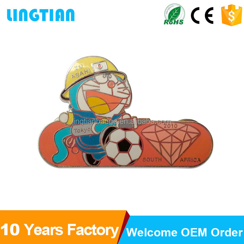 China Factory Custom Fancy Metal Pin Badges For Clothes