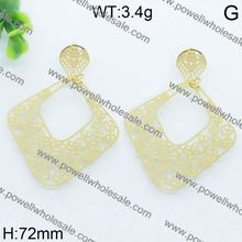 Very cute and elegant big earrings uk english lock big earrings