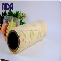 Ada high quality pvc cling film with self adhesive