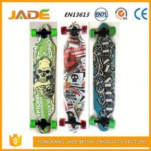 Professional skateboard manufacturer design your own 4 wheels skateboard wood fish board