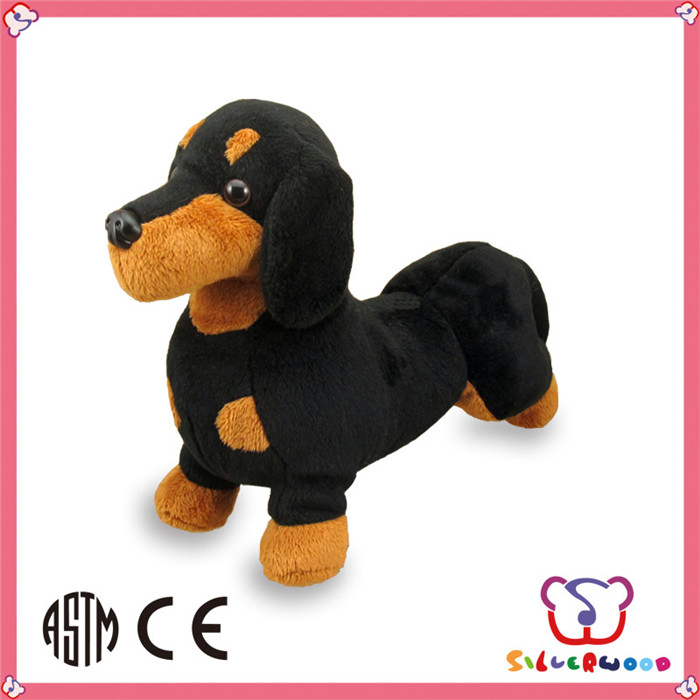 ICTI Factory custom wholesale handmade stuffed animal sound plush dog toy