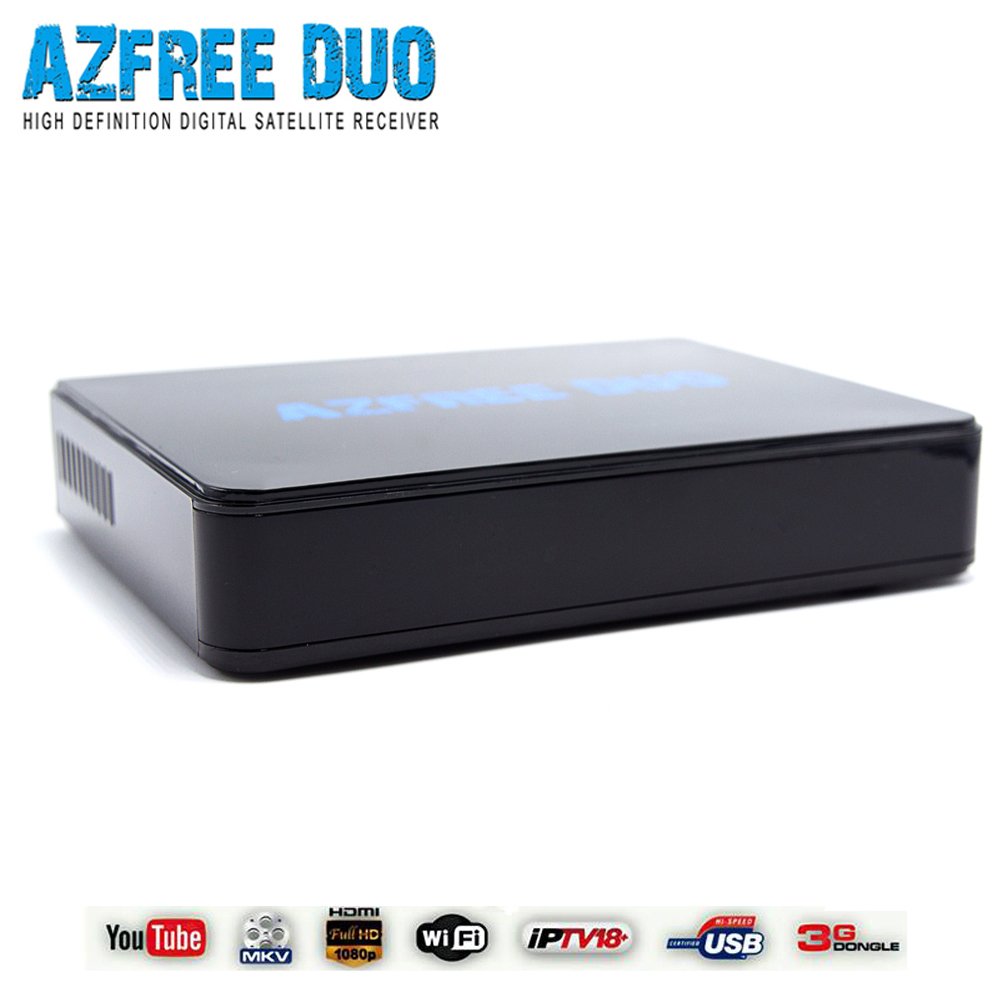 Latin America azbox receiver azfree duo with iks sks iptv 3G full hd 1080p