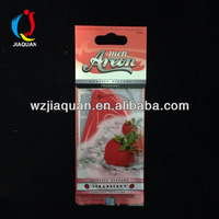 Hang tag Air Freshener Card