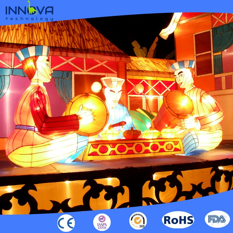 Innova-Big project outdoor chinese lantern magic show for Mid-Autumn Festival