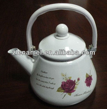 1.5L/2.0L/2.5L enamel tea pot kettle