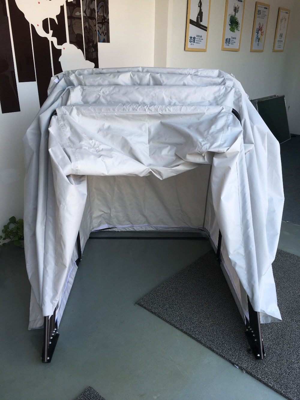 Bike Outdoor Shelter Durable Voll wasserdichtes Oxford 300D Motorradlagerzelt