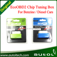 Support Wholesale EcoOBD2 Economy for Benzine and Diesel OBD2 Chip Tuning Box
