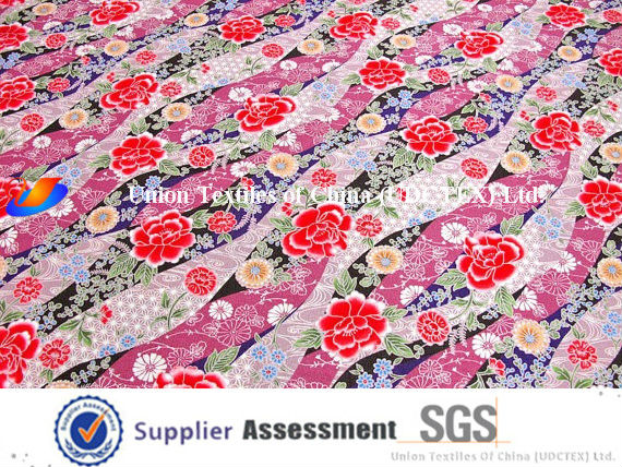 100% Cotton Printed Curtain Fabric