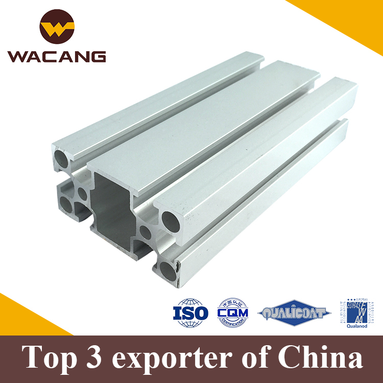 Super high grade anodized t-slot aluminum extrusion profile