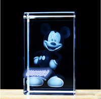 3d laser engraved crystal cube machine, blank crystal cubes for engraving, crystal glass cube
