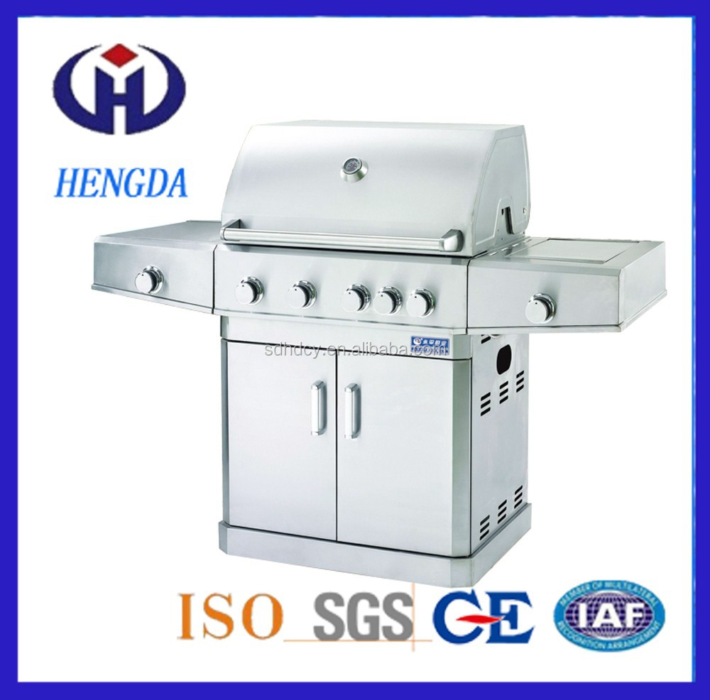 Hot Sale Outdoor Indoor Gas BBQ Grill / BBQ Gas Grill with CE