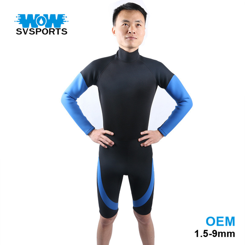 Top New Design Custom Printed Springsuit Neoprene Wetsuit