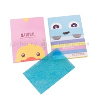 New 100pcs Oil Control Absorption Film Tissue Blotting Paper
