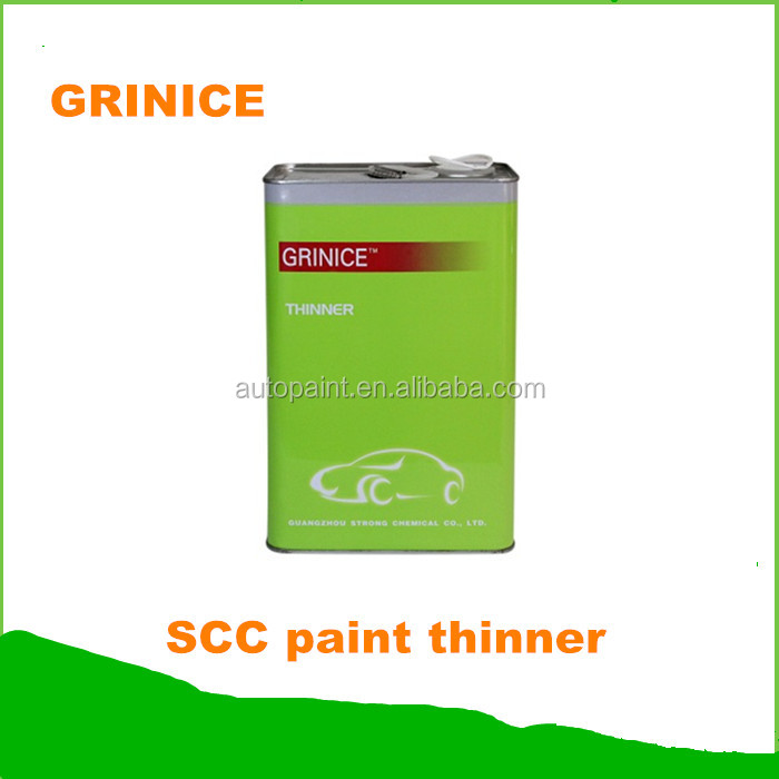 High class low water content car paint thinner